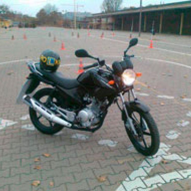 Motocykl egzaminacyjny - Yamaha YBR 125
