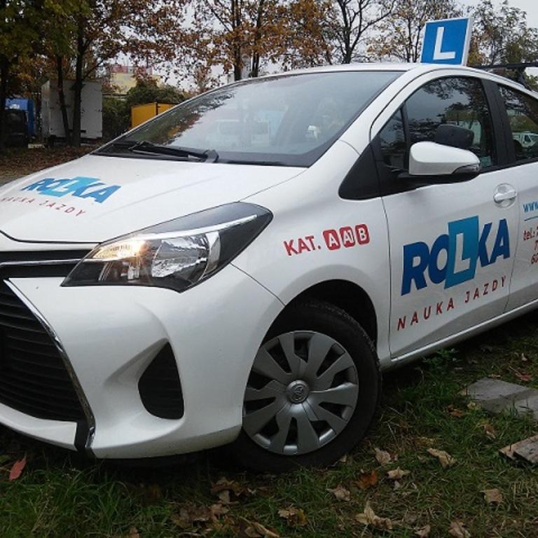 Samochód egzaminacyjny - Toyota Yaris